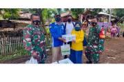 Pegadaian Salurkan Bantuan untuk Masyarakat Terdampak Banjir di Jawa Barat