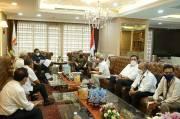 Mengadu ke Pimpinan DPR, FPBNJ Temui Sufmi Dasco dan Rachmat Gobel
