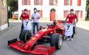 Cristiano Ronaldo Sambangi Markas Ferrari, Leclerc dan Carlos Sainz Semringah