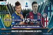 Preview Hellas Verona vs Bologna (Link Live Streaming RCTI+)