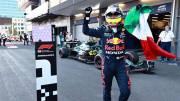 Sergio Perez Menangi Balapan Dramatis di GP Azerbaijan 2021