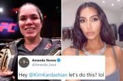 Ngeri, Petarung MMA Amanda Nunes Tantang Kim Kardashian Bertarung
