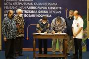Pupuk Indonesia dan Polowijo Gosari Kaji Pembangunan Pabrik Pupuk Kieserite