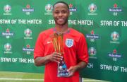Raheem Sterling Star of the Match di Laga Pembuka Timnas Inggris