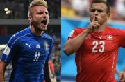 Adu Tajam Ujung Tombak, Italia vs Swiss Diprediksi Sengit