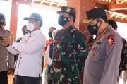 Pantau Langsung Posko PPKM Mikro di Madiun, Ini Arahan Panglima TNI
