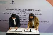 Teken Nota Kesepahaman Bersama, Peruri dan Bank Syariah Indonesia Saling Memanfaatkan
