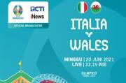 Piala Eropa 2020: Susunan Pemain Timnas Italia vs Wales