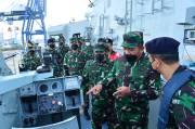 Wakasal Cek Kesiapan Tempur 6 Kapal Perang, Ada Apa?