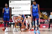 Amerika Serikat Dibantai Prancis, Fans: Tim Basket Terburuk!