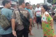 Polisi Dikejar dan Diamuk Ibu Tersangka Pelaku Curas di Asahan