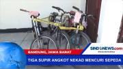 Polisi Tangkap Komplotan Pencuri Sepeda di Bandung