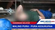 Pencuri Kotak Amal Pura-Pura Kesurupan Saat Ditangkap Warga