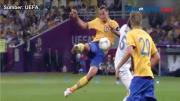 Jelang Euro 2020, Ibrahimovic Cedera Lutut