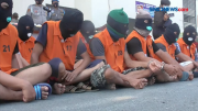 Belasan Penjudi Diciduk saat Tengah Asik Main Judi Koprok di Lampung