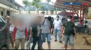 Polisi Gerebek Pesta Sabu di Sebuah Gubuk