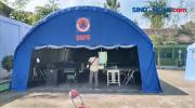 Pasien Membludak, BPBD Dirikan Tenda Darurat