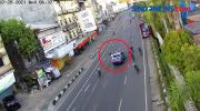 Seorang Pesepeda Jadi Korban Tabrak Lari Mobil Pelat Merah