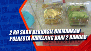 2 Kg Sabu Berhasil Diamankan Polresta Barelang dari 2 Bandar