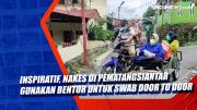 Inspiratif, Nakes di Pematangsiantar Gunakan Bentor Untuk Swab Door To Door