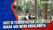 Kafe di Tengah Hutan Jati, Pizza Bakar Jadi Menu Andalannya