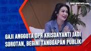 Gaji Anggota DPR Krisdayanti jadi Sorotan, Begini Tanggapan Publik