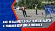 Hari Kedua Ganjil Genap di Ancol, Banyak Kendaraan Roda Empat Dialihkan