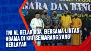 TNI AL Gelar Doa Bersama Lintas Agama di KRI Semarang yang Berlayar