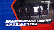 Seorang Warga Diserang Geng Motor di Ciracas, Jakarta Timur