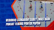 Veddriq Leonardo Sabet Emas dari Panjat Tebing PON XX Papua