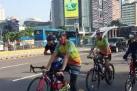 Ramai Bersepeda pada Masa Pandemi, Ini Tips agar Aman di Jalan Raya