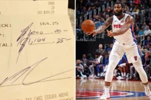 Karena Uang Tip, Pemain NBA Ini Sampai Bikin Nangis Pelayan Restoran