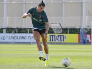 Cristiano Ronaldo Nikmati Sesi Latihan Bersama Juventus