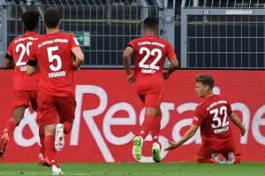 Statistik Der Klassiker Kemenangan Muenchen atas Dortmund
