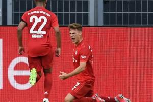 Jadi Pahlawan Bayern Muenchen, Joshua Kimmich : Itu Gol Terindah