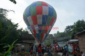 AirNav Catat Balon Udara Liar Turun Drastis