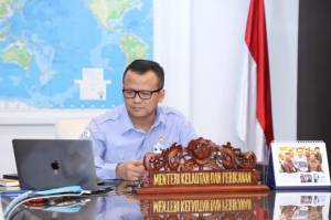 Edhy Prabowo Buka Akses Permodalan Untuk Wirausaha Milenial