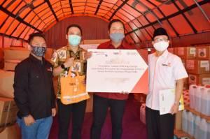 Kolaborasi, Lazismu dan Bank CIMB Niaga Syariah Serahkan Bantuan Alkes