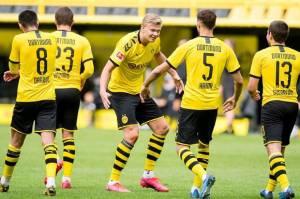 Langgar Protokol Kesehatan, Dortmund Beri Peringatan Keras ke Pemain