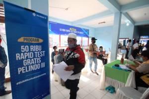 Rapid Test Gratis Pelindo 3 Jangkau Warga di Ujung Pulau Madura