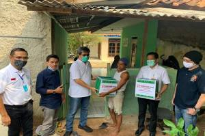 Sinar Mas Land Serahkan Bantuan Bahan Pangan ke Warga Terdampak Covid-19