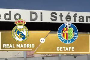 Susunan Pemain Real Madrid vs Getafe: