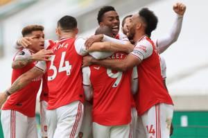 Arsenal Curi Tiga Angka di Kandang Wolverhampton Wanderers