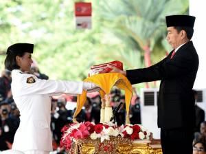 Hanya pejabat tertentu yang diperbolehkan masuk ke area Istana Merdeka untuk mengikuti upacara HUT Kemerdekaan RI pada 17 Agustus 2020.