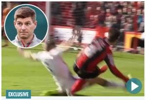 Terungkap, Kemaluan Steven Gerrard Rusak akibat Tekel Horor