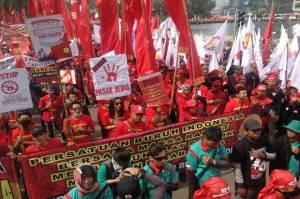 Enam Serikat Buruh Konsisten Bertahan di Tim Pembahasan RUU Ciptaker