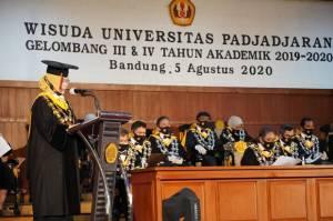 Unpad Gelar Wisuda Hybrid, Ada Edhy Prabowo Lulus Program Doktoral