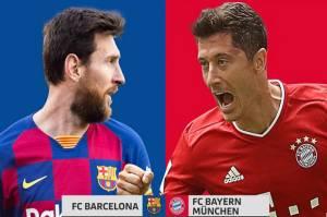 Skor Lionel Messi vs Robert Lewandowski, Siapa Lebih Kejam di Depan Gawang?