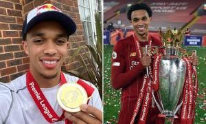 Trent Alexander-Arnold Pemain Muda Terbaik di Liga Inggris