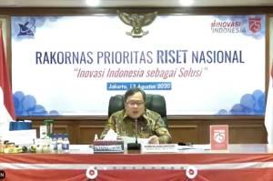 Menristek Sampaikan Fokus Prioritas Riset Nasional pada Rakornas PRN